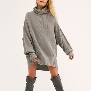 Free People Cocoa Sweater in Grey